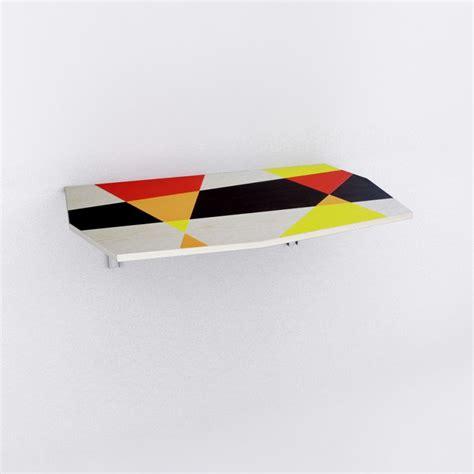 tavoli da parete tavolo da parete libellula intarsiato bonodesign