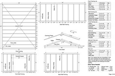 Free Shed Blueprints 12x16 by Nale Where To Get 2x4 Shed Floor Framing