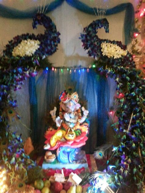home decoration for puja 17 best images about ganapati decoration on pinterest