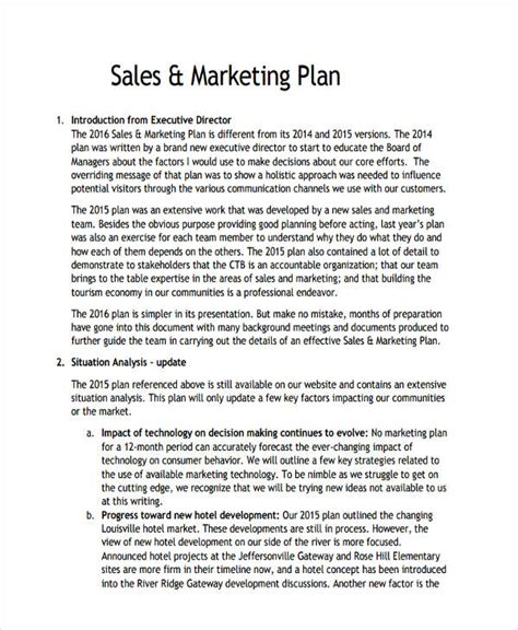 hotel marketing plan template 39 marketing plan exles sles