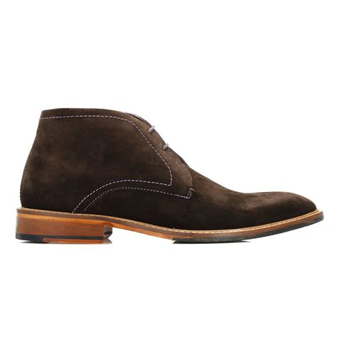 Sepatu Casual Lacoste Freed Suede Leather 100 Import 1 Ted Baker Brown Torsdi 4 Suede Ankle Boots 2 Eye