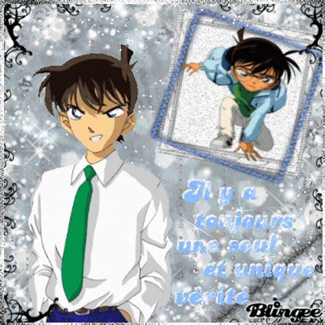 Kaos Detective Conan 18 Shinichi Kudo shinichi conan picture 123440522 blingee