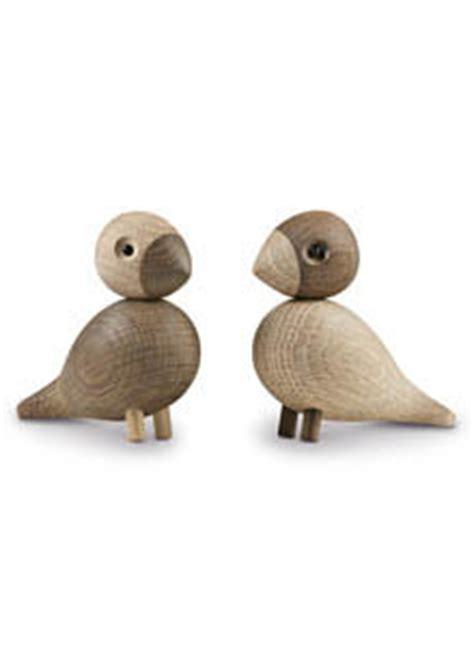 lovebirds wooden danish bird sculptures  kay bojesen