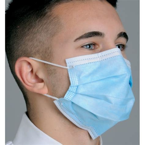 Masker Earloop masks shields dental supplies defend by mydent