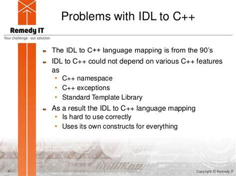 Corba Programming With Taox11 C 11 Tutorial C Standard Template Library Tutorial