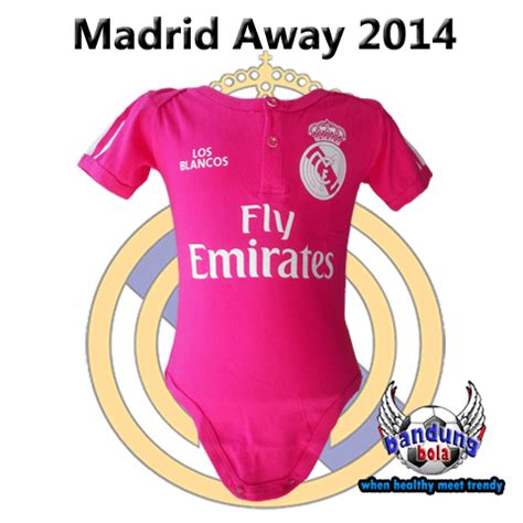 Baby Jumper Bola Bayi Dortmund baby jumper real madrid away 14 15 happy pupu baby cloth