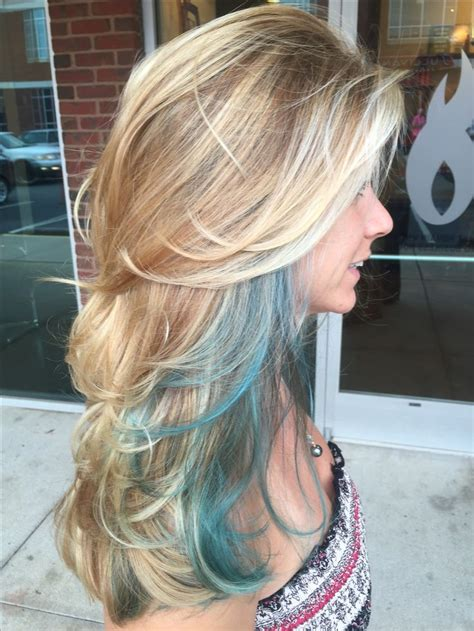 hairstyles with teal highlights best 25 teal highlights ideas on pinterest teal hair