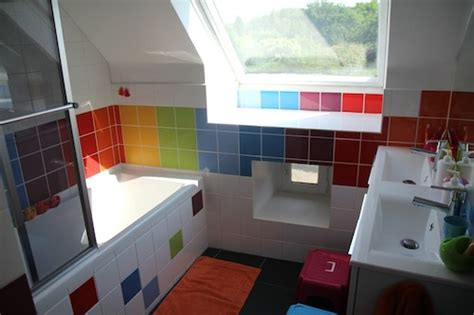rainbow bathrooms living with kids marjolaine solaro design mom