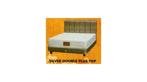 Bed Bigland Silver silver plush top bed bigland harga