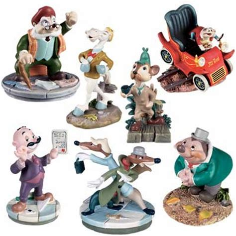 wind in the willows miniature pewter figure set from our - Disney Original Release Glass Or Ceramic Toys