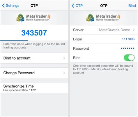 mobile otp what s new in metatrader 4