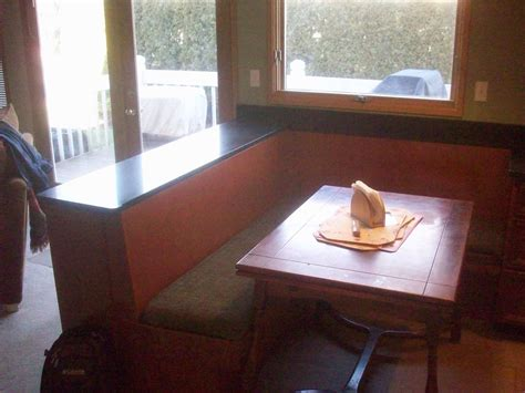 custom  breakfast nook  eagle woodworking