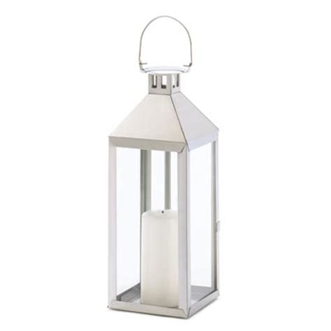 wholesale sleek stainless steel garden lantern soho