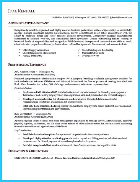 Administrative Coordinator Resume by Impressive Professional Administrative Coordinator Resume