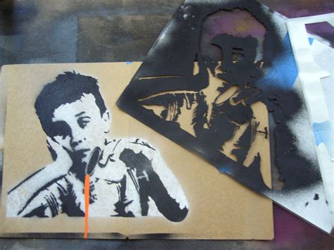 Best Paper To Make Stencils - creating complex spraypaint stencils by