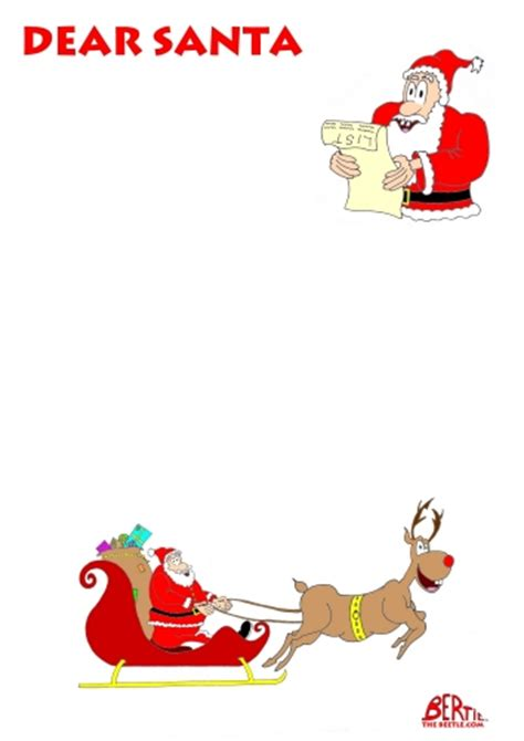 free template letter to santa letter from santa letters dear santa news