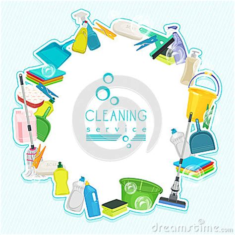 Cleaning Services Business Cards Sles