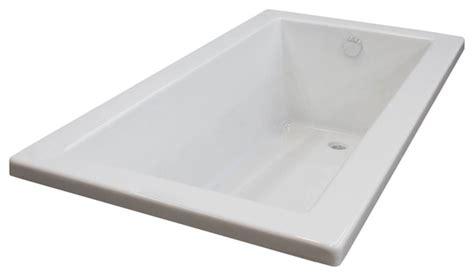 42 x 60 bathtub bronzino 42 x 60 rectangular soaker drop in bathtub tub