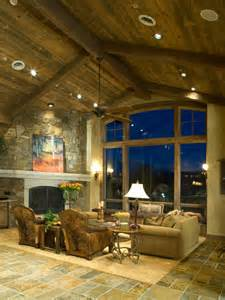 Vaulted Ceiling Ideas Living Room Sensational Great Rooms With Vaulted Ceilings Decorating Ideas Gallery In Living Room Rustic
