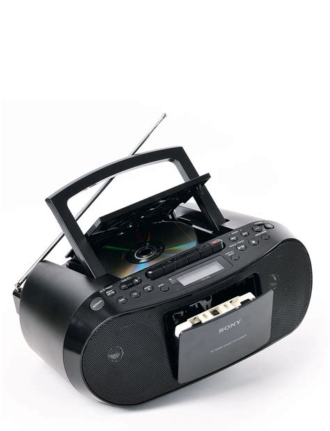 cd radio cassette player sony digital cd radio cassette player chums