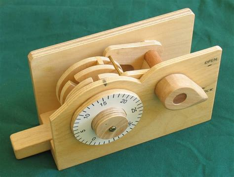 How To Build A Master Wooden Combination Lock