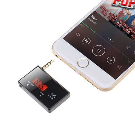 best fm transmitter for iphone aliexpress buy 3 5mm in car fm transmitter radio adapter for ipod iphone 6 5s 5c 5 5g