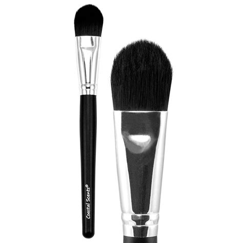 Coastal Scents Classic Large Powder Brcn27 classic foundation concealer brush large synthetic