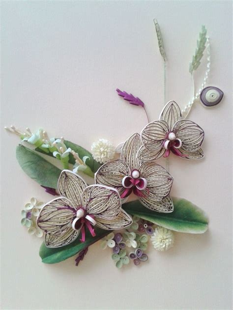 paper quilling orchid tutorial 17 best images about paper quilling on pinterest