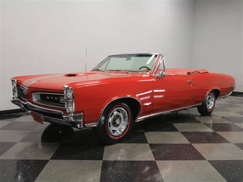 Pontiac Convertible For Sale by 1966 Pontiac Gto Convertible For Sale