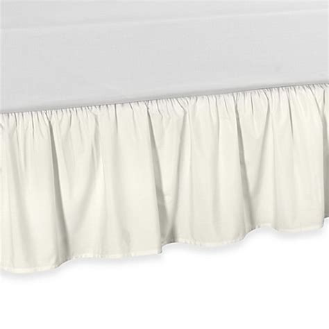 daybed bed skirt buy smoothweave ruffled daybed bed skirt in ivory from