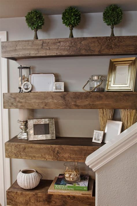floating shelves living room top 10 diy living room decoration ideas creating unique