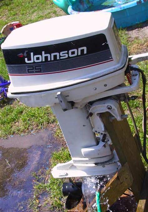 used johnson boat motor parts 25hp johnson boat motor 171 all boats