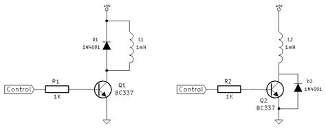 what does a fly back diode do where should i put the kickback diode in a transistor switch electrical engineering stack