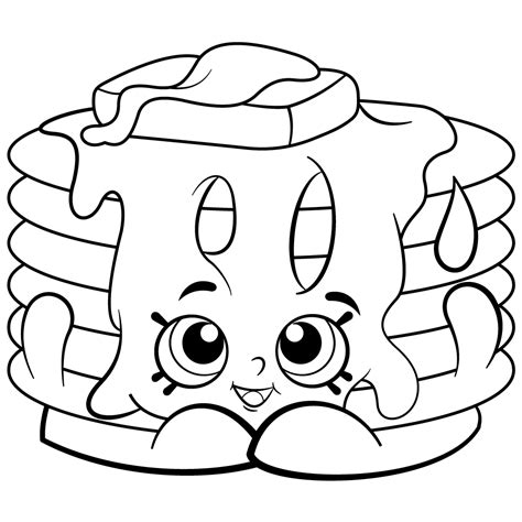 Free Printable Coloring Pages by Free Printable Shopkins Coloring Pages Printable