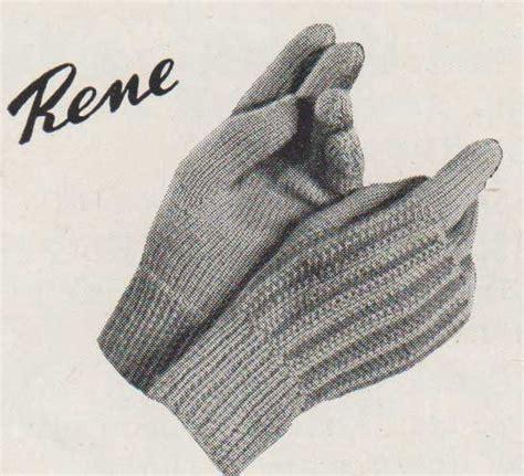 knitting pattern for childrens gloves free knitting pattern rene children s gloves knit on two