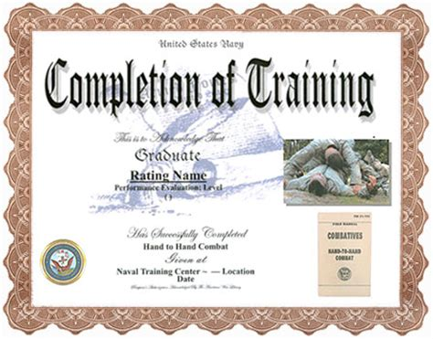 army certificate of completion template army certificate of completion template