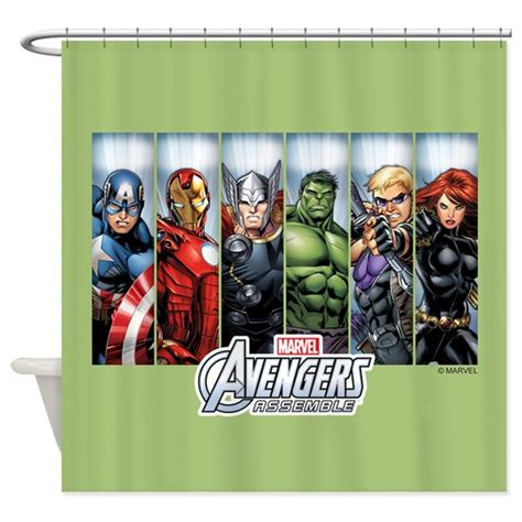 avengers curtains uk avengers assemble shower curtain by theavengers