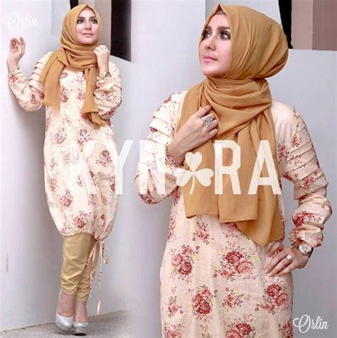 stayle baju masakini style baju muslim wanita simple trendy masa kini 2016