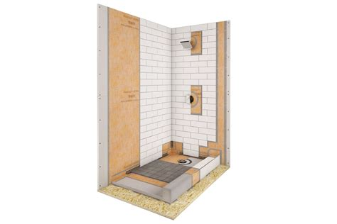 bathroom kit schluter 174 kerdi shower kit kerdi shower kit shower