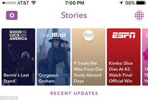 Update On The Story by Snapchat Update Overhauls Discover And Makes It Easier To