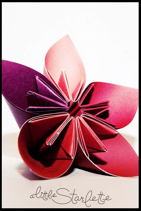 design flower paper paper flowers a little starlette