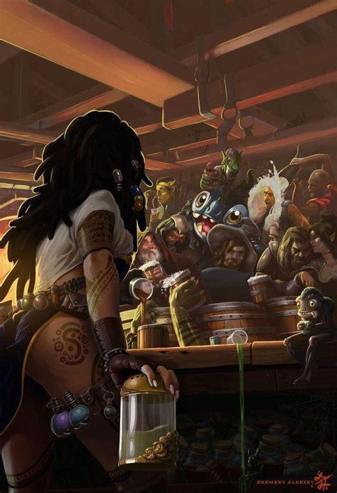npc barkeep wizard thlvl tavern urban city road