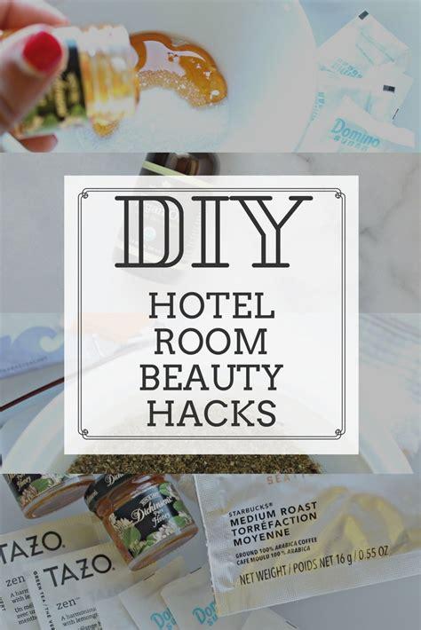 hotel room hacks diy hotel room travel hacks recipes included