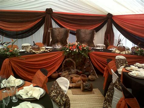 Traditional Decorations by Sepedi Traditional Wedding Decor Pictures Lmparas