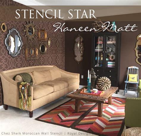 wall stencils for living room peenmedia com