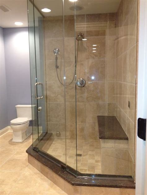 Houzz Bathrooms With Showers Neo Angle Shower Houzz