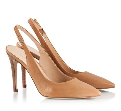 high heel slingbacks lella baldi vitello leather pointed high heel slingback