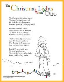 fun children s christmas poem about christmas lights