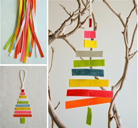 decoraci 243 n f 225 cil diy adornos para navidad con fieltro