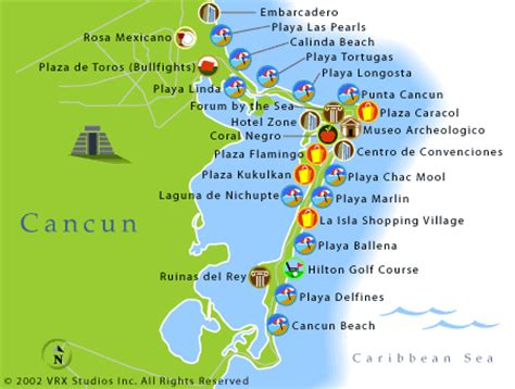map of cancun cancun area maps mexico cancun and maps